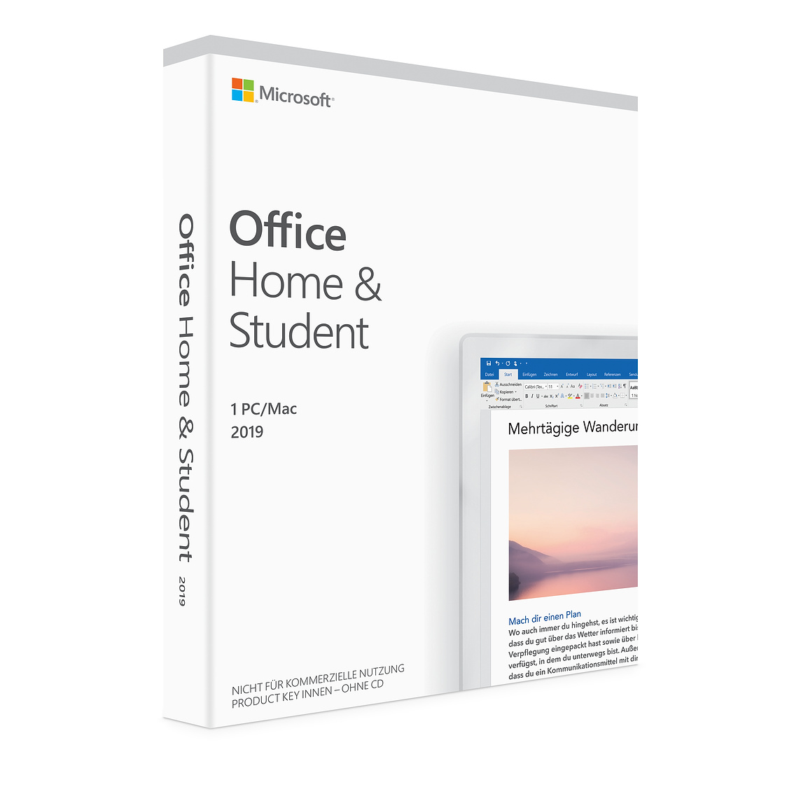 Microsoft Office 2019 Home/Student English 1 Pc/Mac